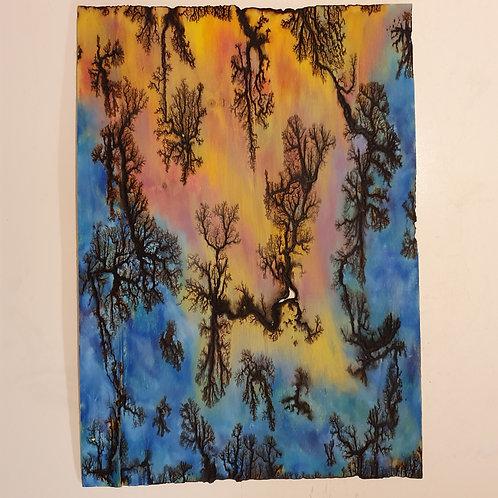 Tableau en bois arborescent ®  A2