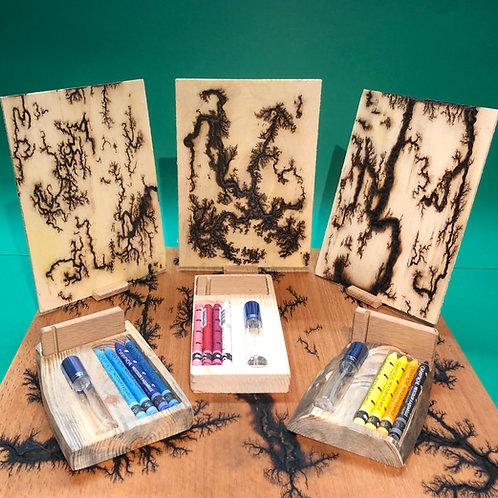 Kit créatif - Tableau en bois arborescent ® A5
