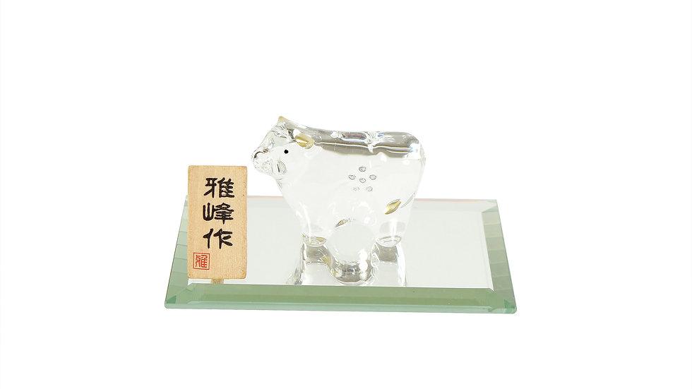 N-31 ビードロ金彩福 丑