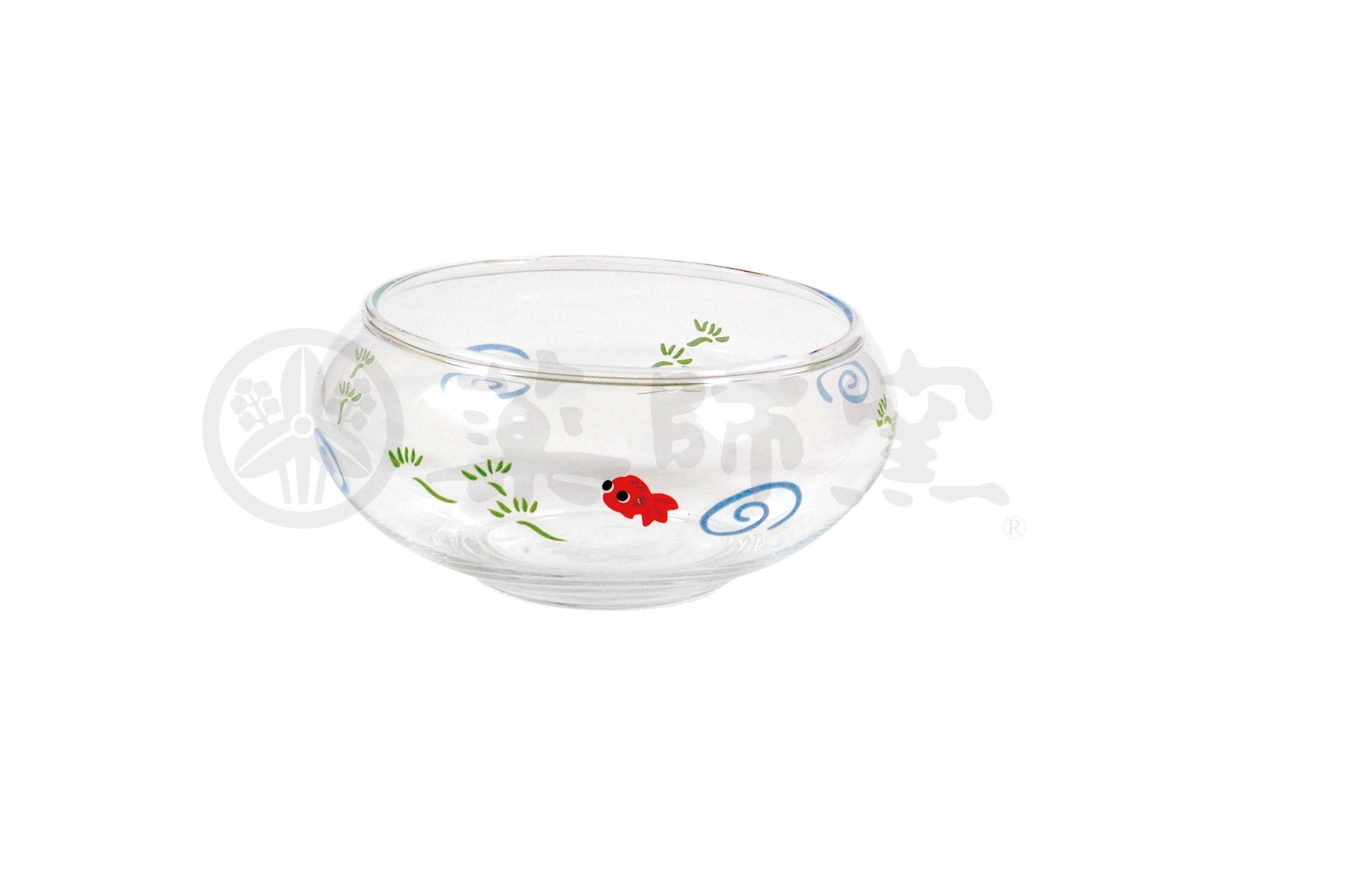 9966ガラス金魚鉢(水草・小)