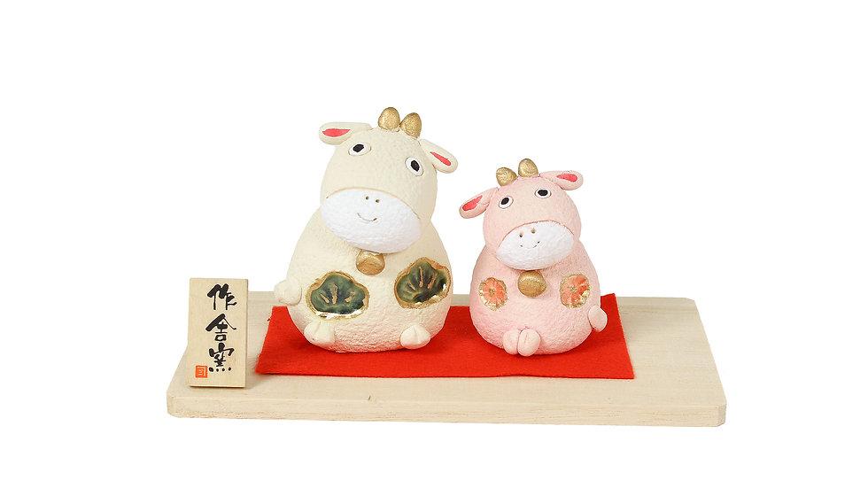 K21-18 丑 松竹飾り
