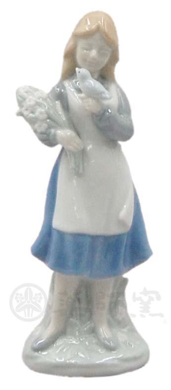M377小鳥と少女