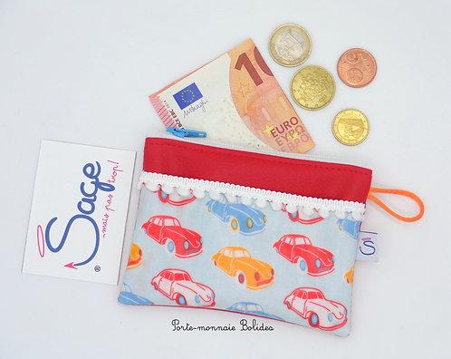 Porte-monnaie -Bolides