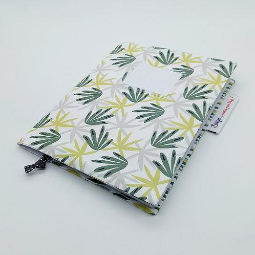 Couverture A5 (petit cahier) Végétal