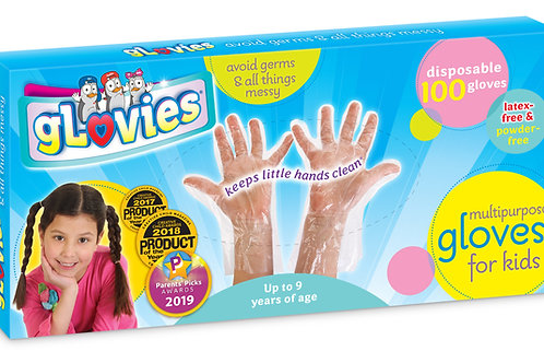 gLovies Latex-Free Multipurpose Gloves (100 Count)