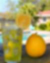beautiful lemonade and lemon