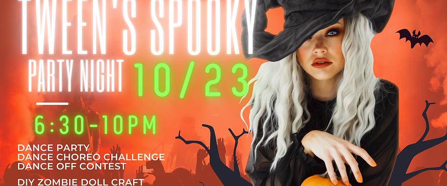 Tween's Spooky Party Night