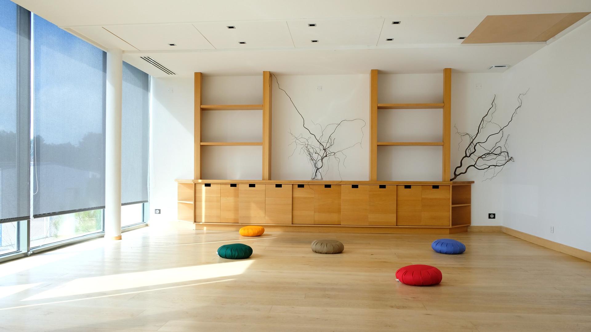 Notre salle de méditation