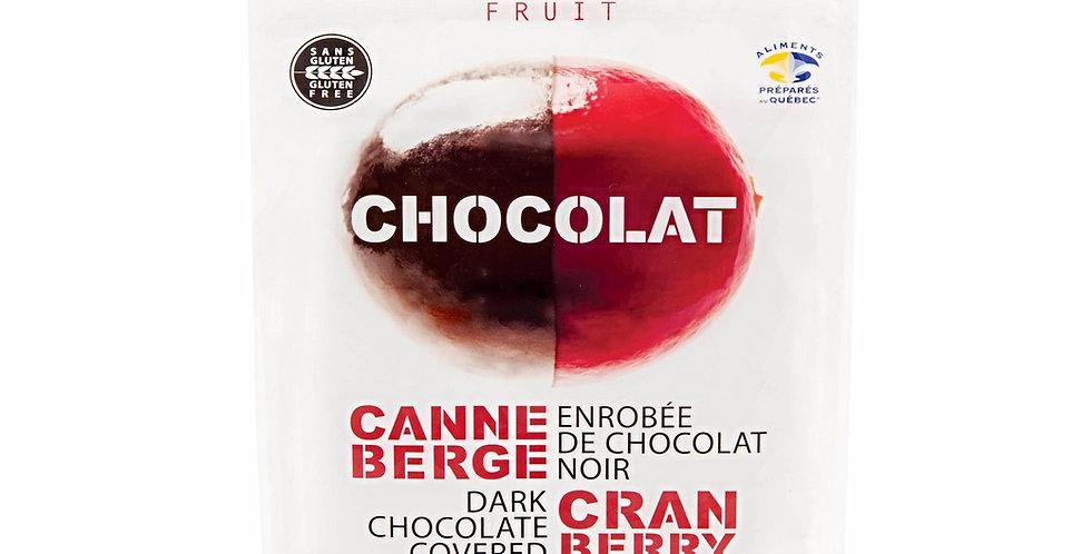 CANNEBERGE ENROBÉE DE CHOCOLAT NOIR 325 g