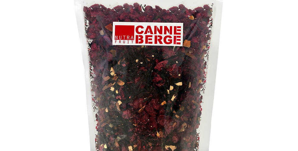 VRAC 200 g THÉ NOIR CANNEBERGE ORANGE GINGEMBRE VANILLE