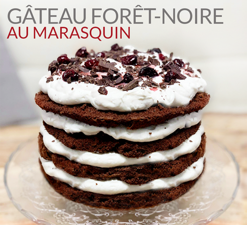 FOREST- BLACK MARASQUIN CAKE