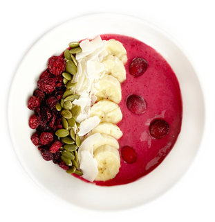 SMOOTHIE ROUGE CANNEBERGE & BETTRAVE