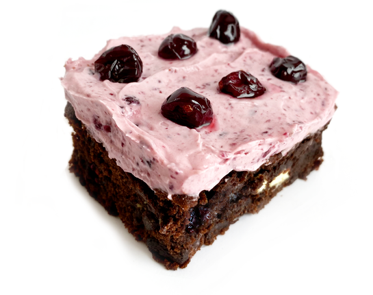 BROWNIES CANNEBERGES AU MARASQUIN