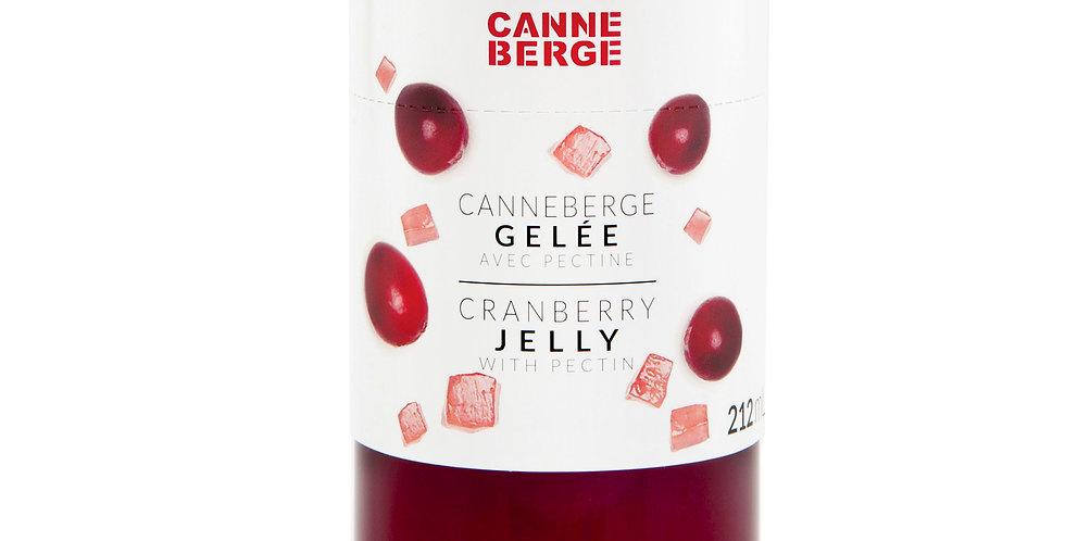 GELÉE CANNEBERGE AVEC PECTINE