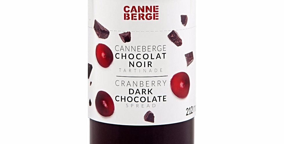 TARTINADE CANNEBERGE CHOCOLAT NOIR