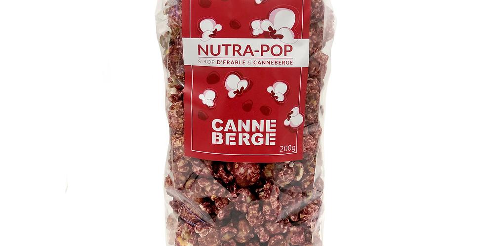 NUTRA-POP SIROP ÉRABLE & CANNEBERGE