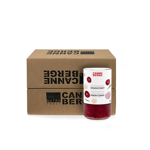 CASE OF 12 CRANBERRY AND ONION CONFIT 212 ml