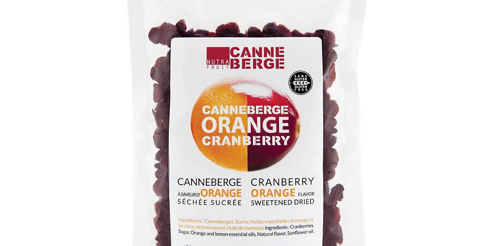 CANNEBERGE SÉCHÉE SUCRÉE À L'ORANGE  454 g / 1 lb
