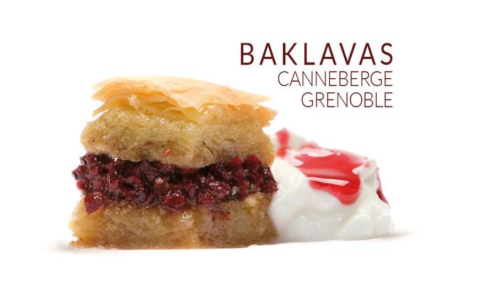 GRENOBLE CRANBERRY BAKLAVAS