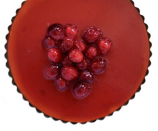 CRANBERRY JELLY CHEESE PIE