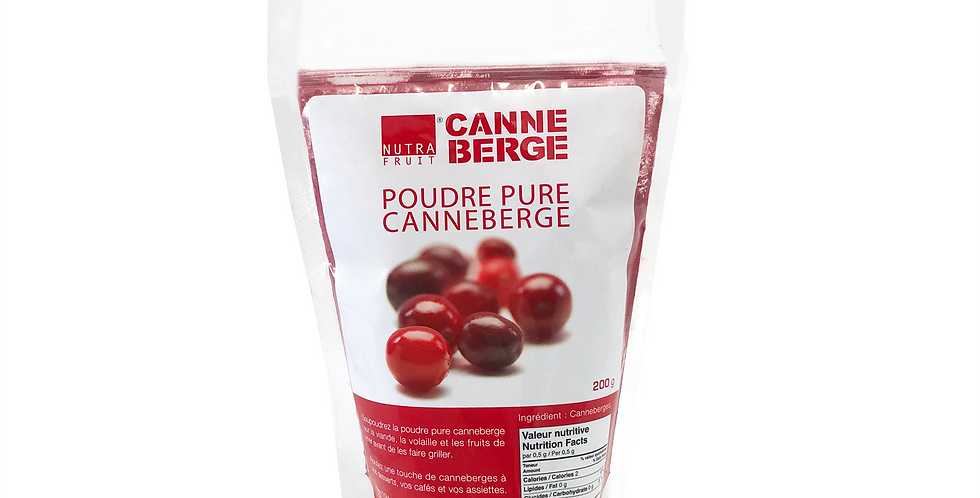 POUDRE PURE CANNEBERGE 200g