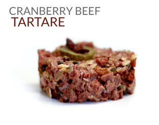 CRANBERRY BEEF TARTARE