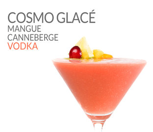 COSMO GLACÉ MANGUE CANNEBERGE VODKA