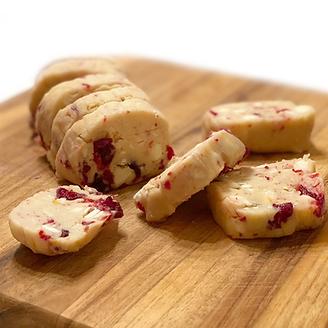 Biscuits au marasquin chocolat blanc et orange