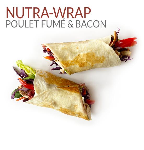 NUTRA-WRAP POULET FUMÉ & BACON