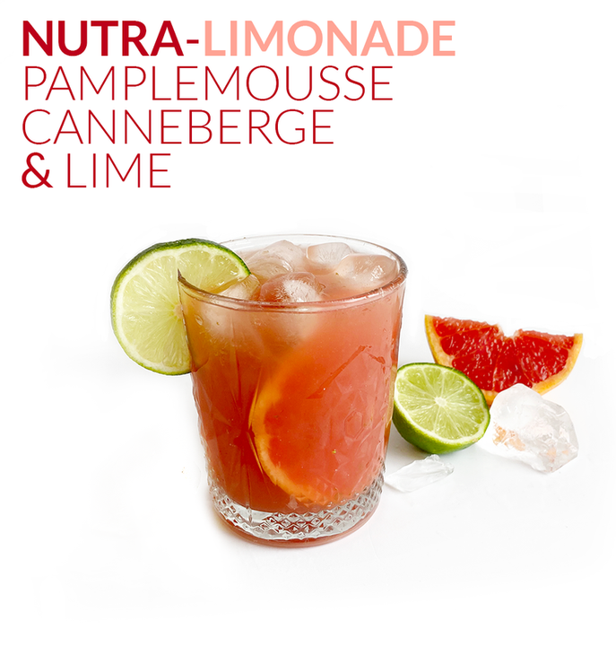 NUTRA-LIMONADE, PAMPLEMOUSSE, CANNEBERGE & LIME