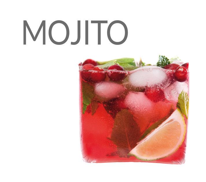MOJITO À LA CANNEBERGE