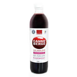 jus 100% pur canneberge & framboise_fron