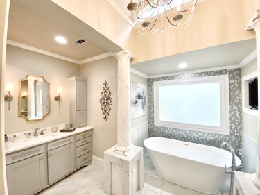 New Traditional Bathroom Design