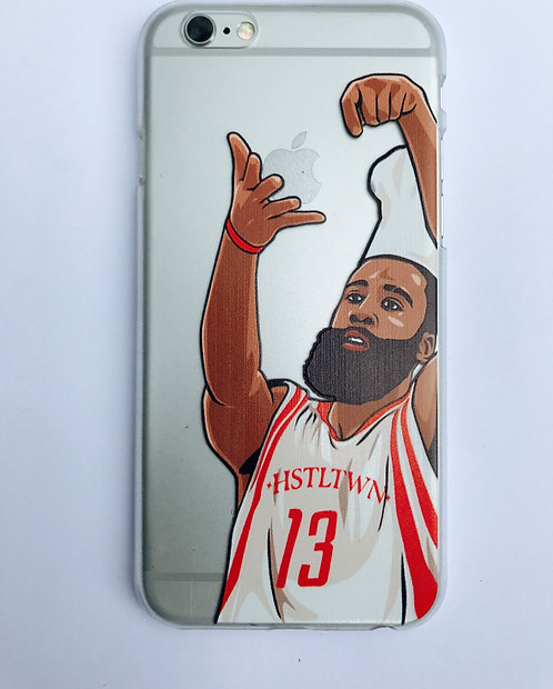 """Rockets James Harden """"Stirring the Pot""""case for iPhone 6 and iPhone 7"""