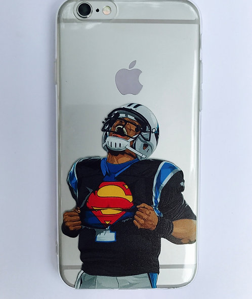 "Panthers Cam Newton ""Supercam""case for iPhone 6 and iPhone 7"