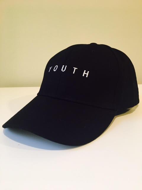 Youth Snapback Cap (Black)