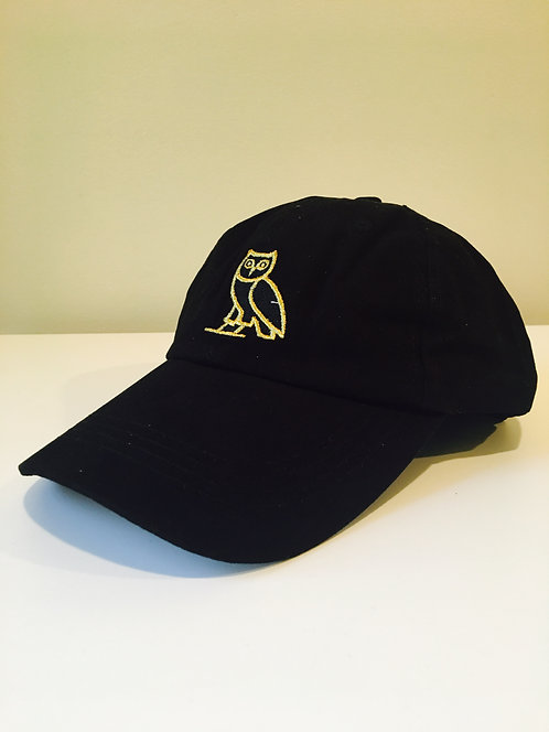 Owl Dad Hat (Black)