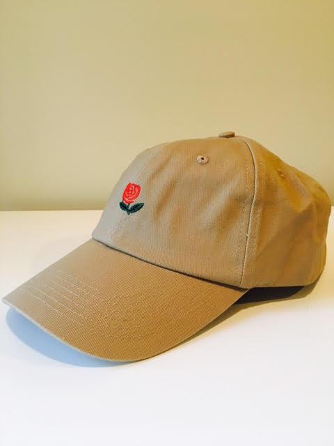 Rose Dad Hat (Biege)