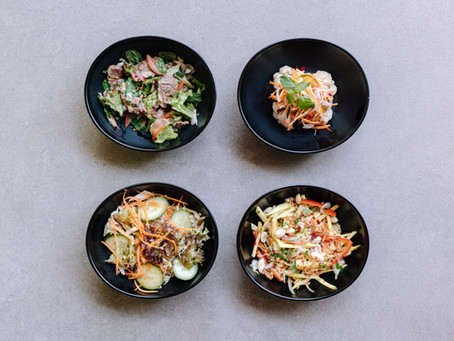 healthy, hearty and oh-so-fresh, introducing our new salads
