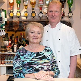 Photograph of Anton and Gail Buttery - Four Teas Cafe Mousehole