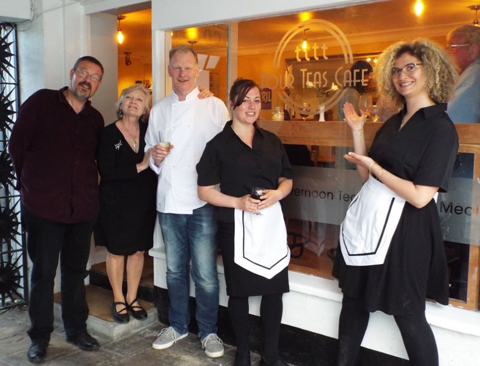 Four Teas Cafe Mousehole Staff Photograph May 2018.png