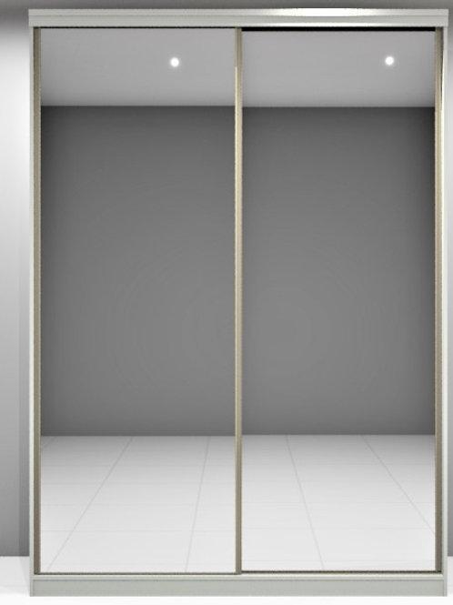 Armario Deslizante Portas em Espelho