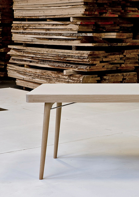Forum folding table for Andersen Furniture