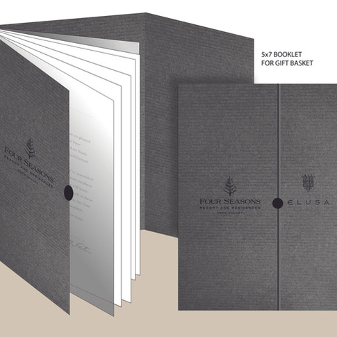 5X7 BOOKLET