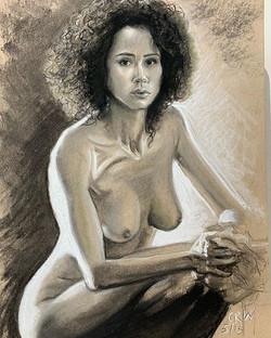 New sketch! The Beautiful Nathalie Emman
