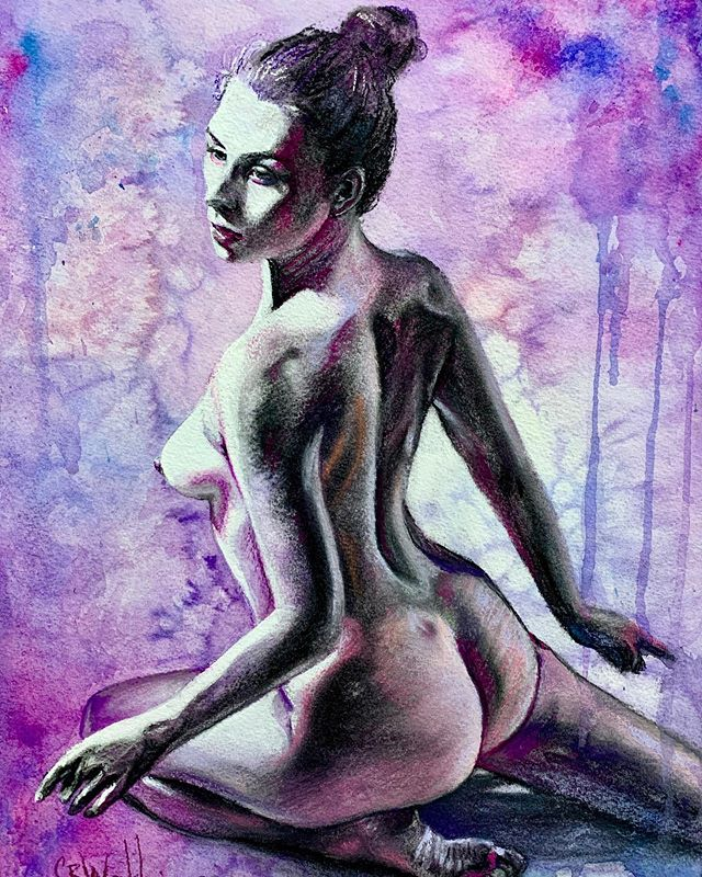 Figure drawing!! Model of The Beautiful