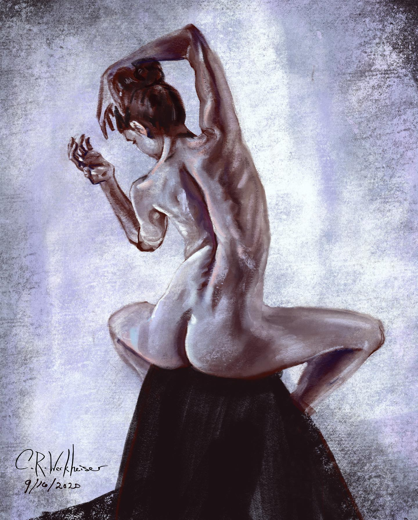 Figure study! A little friendly competit