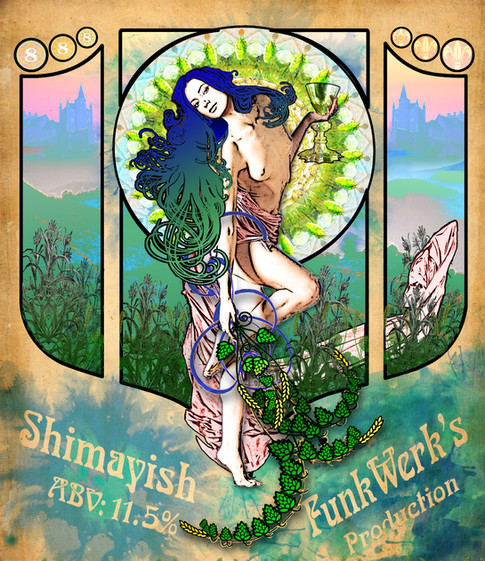 Shimayish Beer Label