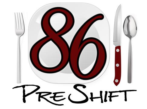 86 Pre-shift logo