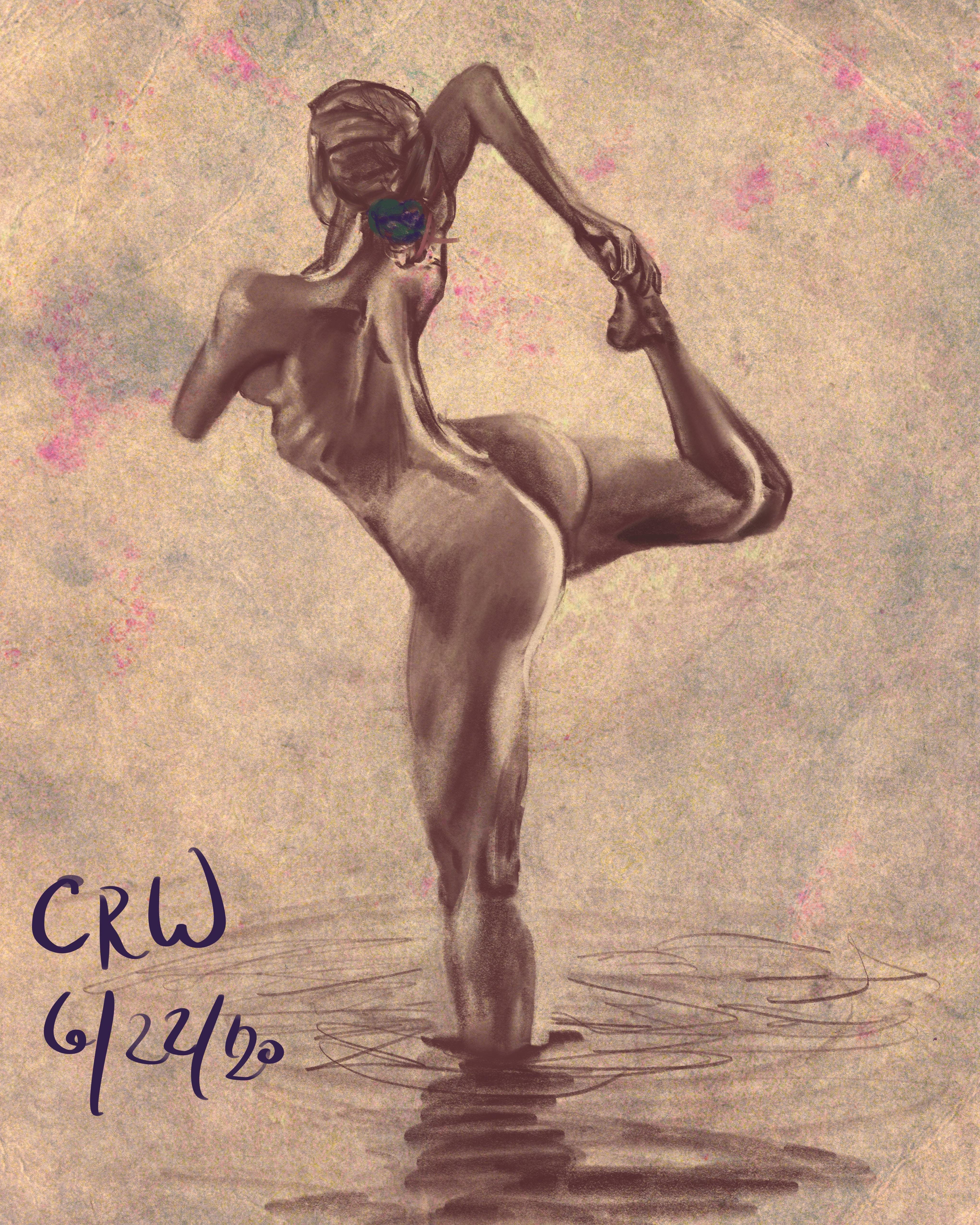 Nude Yoga Girl